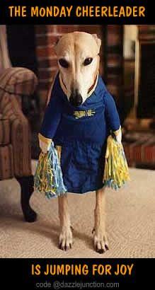Monday's cheerleader. .......             Dazzle Junction.Com. ...