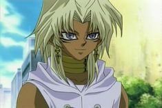 Marik.  He is pure.  He's sensitive to darkness and shifts in the balance.  It's been like this ever since he and the other were separated.  He is pure light the other is darkness.  There is no yin-yang.  He may even be more sensitive than Kairi.