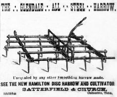 February Glendale All-Steel Harrow. Agriculture Industry, Columbia, February, Image, Colombia