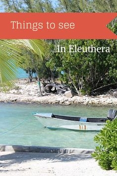 Get away from the crowded beaches of the private island on your next cruise and see what the island of Eleuthera really looks like.