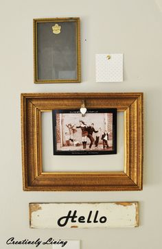 Mini Gallery Wall : Creatively Living