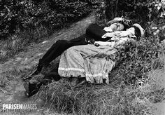 Couple endormi. France, vers 1890.
