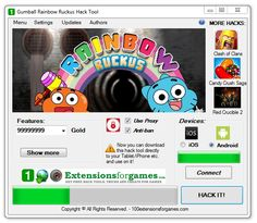 Gumball Rainbow Ruckus Hack Unlimited Gold Coins - 100 Extensions for Games