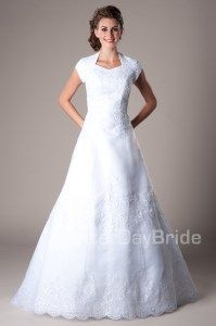 Faggiano - Modest Wedding Dress Front