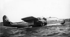 Blohm & Voss BV 222 Wiking taxis—San Diego Air and Space Museum archive photo Voss, Amphibious Aircraft, Air And Space Museum, Flying Boat, Diesel Fuel, Luftwaffe, World War Ii, Vikings, San Diego