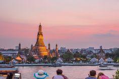 Wat Arun at dusk #Thailand #Photography