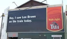 Image result for tui yeah right billboards