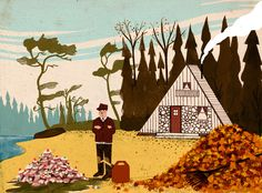 """""""Cottage Life"""" by Mike Ellis"""