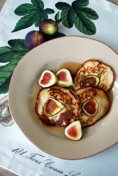Fig Pancakes by Tyler Florence