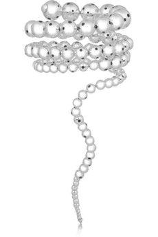 Paula Mendoza Nereus silver-plated bracelet   NET-A-PORTER