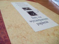 Moja okładka: Listy na wyczerpanym papierze