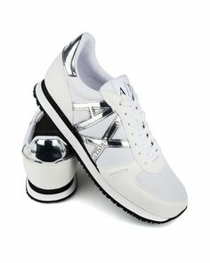 ARMANI EXCHANGE © Men's Shoes ✶ White | BEST PRICE