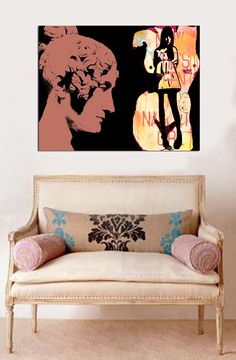 DECOR ; INTERIORS ; ROOMS ; art by FRANCE GLENDOWER