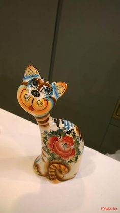 FORMUL.RU :: Распродажа - Статуэтка Авторская работа Большая кошка, Со склада, производство Италия