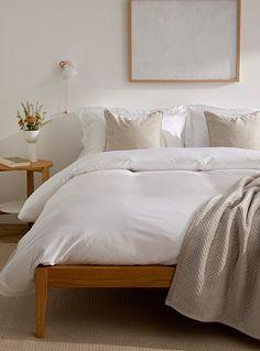 L'ensemble housse bambou et coton égyptien 330 fils au pouce | Le Germain Hôtels | Housses de Couette | Chambre à coucher | Simons