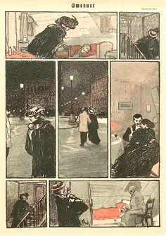 Simplicissimus, Wilhelm Schulz, um 1900