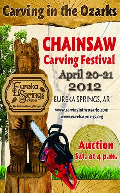 Chainsaw Carving Festival in Eureka Springs