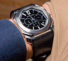 Bulgari Octo Velocissimo Chronograph Watch Review Wrist Time Reviews Bvlgari Diagono, Bvlgari Serpenti, Bvlgari Watches, Luxury Watches, Bvlgari Gold, Amazing Watches, Trends, Chronograph, Omega Watch