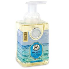 Michel Design Works Beach Foaming Soap, 17.8-Ounce by Michel Design Works. $10.25. Foaming hand soap gets hands extra clean; reduces waste, each pump creates luxurious lather. Beautifully packaged with Michel Design Works signature medallion; elegant square container. 17.8-ounces of shea butter and aloe vera gently cleanse and moisturize, leaving skin soft and fresh. Combine with michel design works' soaps, lotions, journals, and trays to create a unique, personalized gift ...