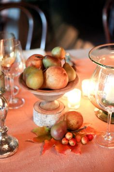 Fall Table - Style Me Pretty