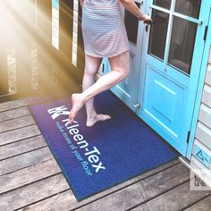 """When was the last time you strolled along the beach barefoot, with the sand between your toes? and we all know """"Sand gets everywhere"""". Don't let it get inside your accommodation, trap it at the door with Kleen-Tex mats. #KleenTexEurope #sandytoes #sandybeach #sanddunes #doormats #makemoreofyourfloor Sandy Toes, Doormats, World Leaders, Barefoot, Flooring, Beach, Home Decor, Door Mats, Decoration Home"""