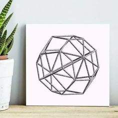 quadro decorativo symmetrical white