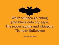 Halloween Poem quote saying halloween poem bat halloween quotes