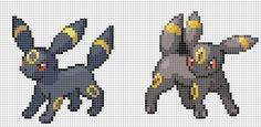 Pokemon from the Generation 3 Series. Placed in grid format to make it easier for pixel-arters to create on minecraft, in hama form, cross-stitch or other form of non-isometric pixel art. (All righ...