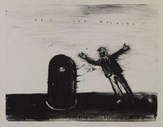 ©David Lynch, courtesy Item Editions/I Have a Radio (c)David Lynch 2009 lithograph 64 x 89 cm 画像: 8/ ART GALLERY/ Tomio Koyama Gallery