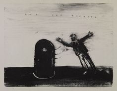 ©David Lynch, courtesy Item Editions/I Have a Radio (c)David Lynch 2009 lithograph 64 x 89 cm  画像: 8/ ART GALLERY/ Tomio Koyama Gallery