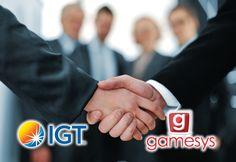 IGT и Gamesys подписывают лицензионное соглашение.  Руководство ведущего производителя игорных автоматов и лотерейных сервисов, компании International Game Technology Plc (IGT), сообщило, что они достигли лицензионного соглашения с известным разработчиком игорного софта и операто�