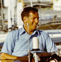 (Ted) Hood, who throughout the through the mid was known as the world's largest sailmaker, is today so well known as a boat and systems designer and a boatbuilder as well as a superb seaman and racing skipper. J Class Yacht, Rhode Island History, In Memorium, America's Cup, Sport One, Oceans, 3 Years, Ted, Sailing