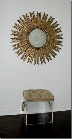 sunburst, and love that stool
