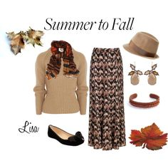 """""""Maxi skirt for FaLL"""" by coolmommy44 on Polyvore"""