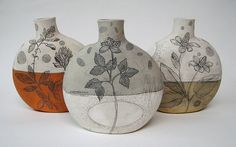 Diana Fayt  Canteen Vases