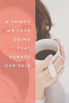 Our lifestyles have a significant impact on the health of our skin.  Don't wait -check out and be aware.