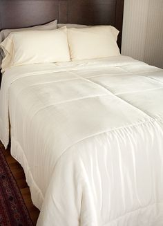 Luxury Silk Filled Comforter