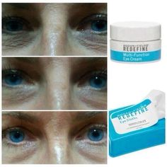 WOW!! Redefine Multi-Function Eye Cream and Redefine Eye Cloths.  www.lindsiebeth.myrandf.com