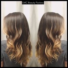 Blonde Balayage ombre | LMC Beauty Factory