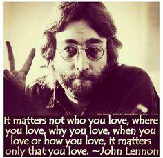 Just, love.