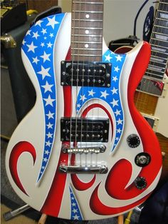 Custom Painted Guitars | Custom Painted Guitars - New and UNIQUE - Call to get your guitar ...
