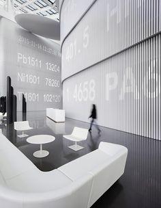 Galería de Midwest Inland Port Financial Town / Hallucinate Design Office - 12