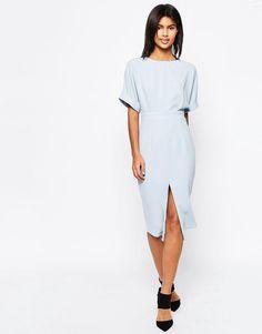 ASOS | ASOS Wiggle Dress with Split Front at ASOS
