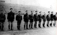EQUIPOS DE FÚTBOL: SELECCIÓN DE ESPAÑA 1957-58