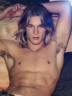 Calvin Klein Male Models | We almost didn't recognise you! Former Calvin Klein model Travis ...
