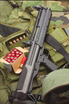 Keltec KSG 12ga bullpup shotgun