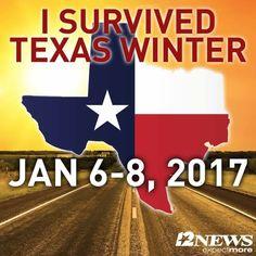 I Survived Texas Winter Jan. Texas Winter, Texas Humor, Only In Texas, Texas Forever, Loving Texas, Texas Pride, Texas History, Texas Travel, Down South