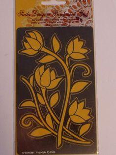 """SIESTA MEDIUM PARCHMENT DESIGNER GRID - 05    Medium Parchment Designer Grid 3.5"""" x 5.5"""" (85 x 140mm)"""
