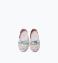 INSTAPPER MET PRINT-Schoenen-Baby meisje (3-36 maanden)-KINDEREN | ZARA Nederland