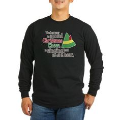 Funny Elf #Christmas Movie Buddy the Elf Quote Spread Christmas Cheer Long Sleeve Tee